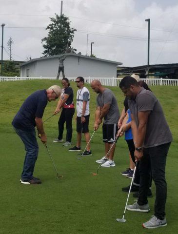 golf escolar
