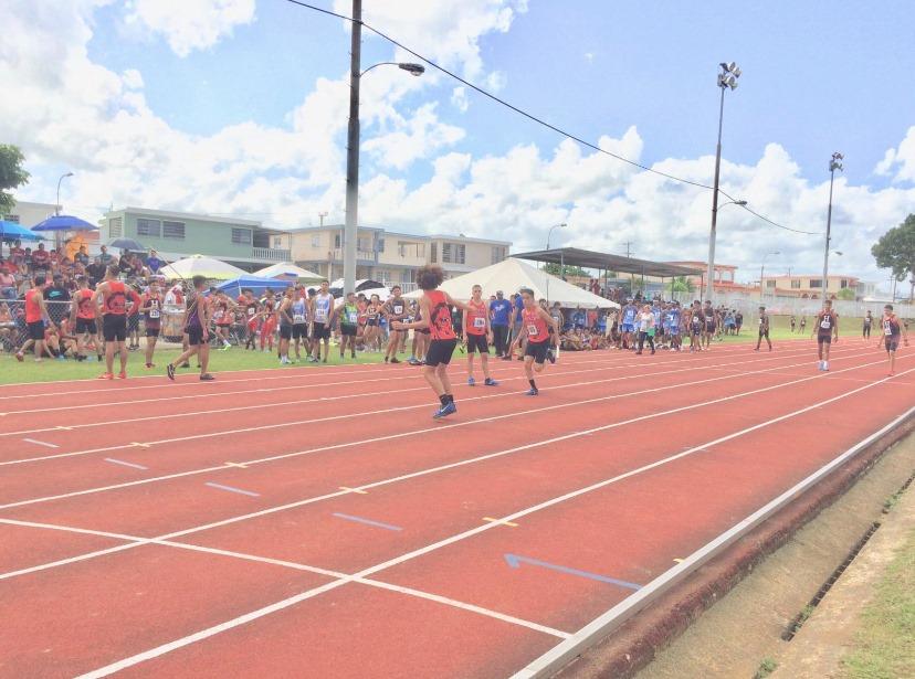 Pista Atlética Calcaño Alicea Sede de las Competencias Organizadas por la Asociación Atlética de Bayamón
