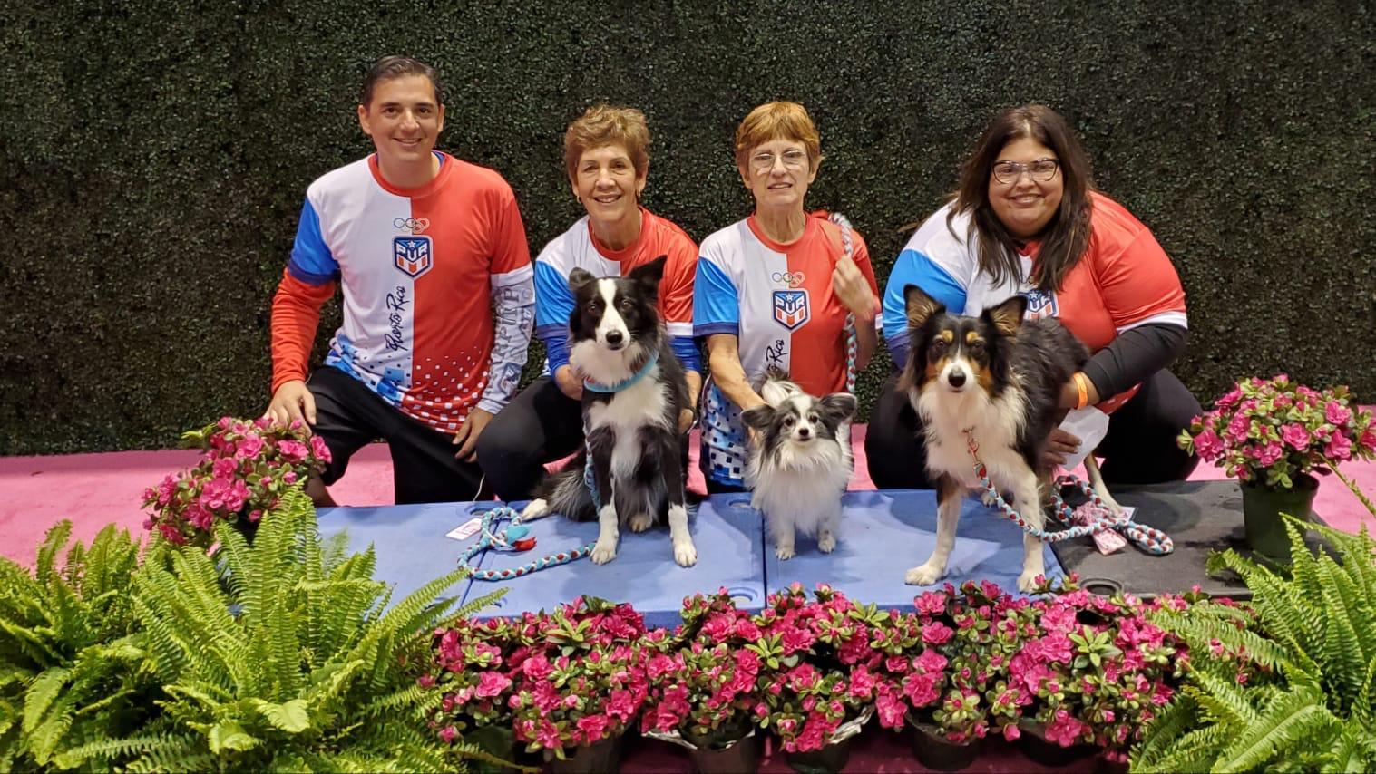 Equipo de Agilidad Canina de Puerto Rico en el Invitacional AKC Agility