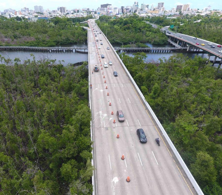 Reabrirán el Lunes el Puente Sobre el Caño Martín Peña en la PR-22