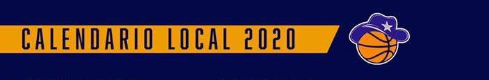 Calendario Local 2020 (Vaqueros BSN)