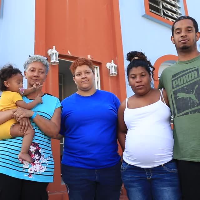 Municipio de Bayamón Brinda hogar a Familia de Guánica