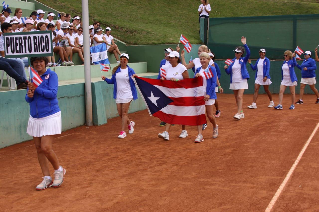 Tenis Equipo de Puerto Rico