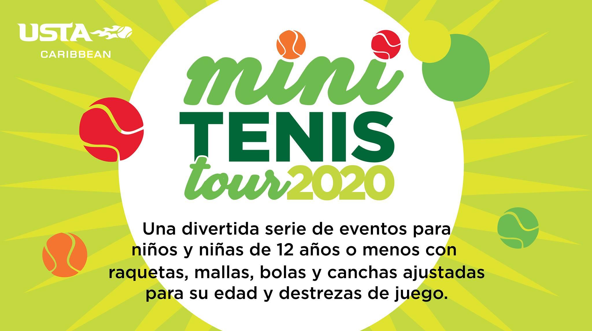 Mini Tenis Tour en el Centro de Tenis Honda el 15 y 16 de febrero de 2020