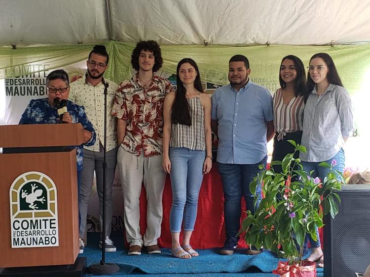 Estudiantes UPR Bayamón Reconocidos en Maunabo