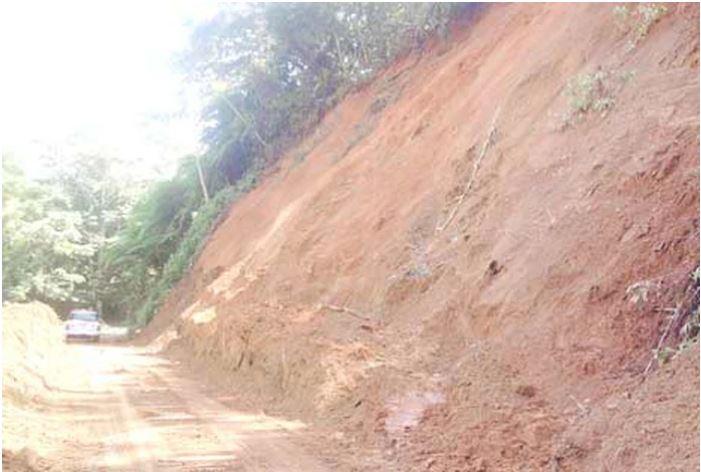 Cierran Tramo de Carretera en Bayamón por Deslizamiento