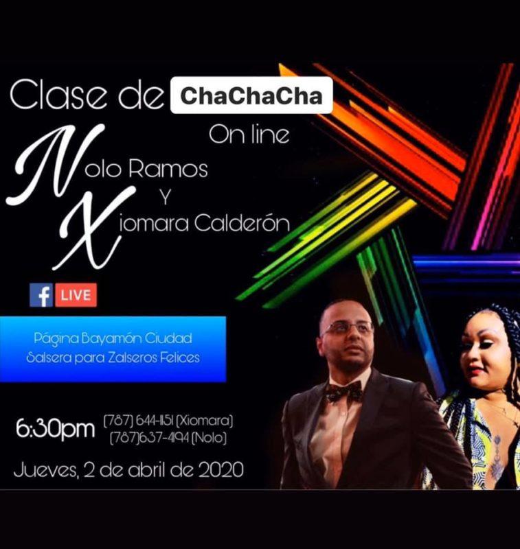 Bayamón Ciudad Salsera te invita a sintonizarte a esta clase de Chachacha Básico con Nolo y Xiomara.