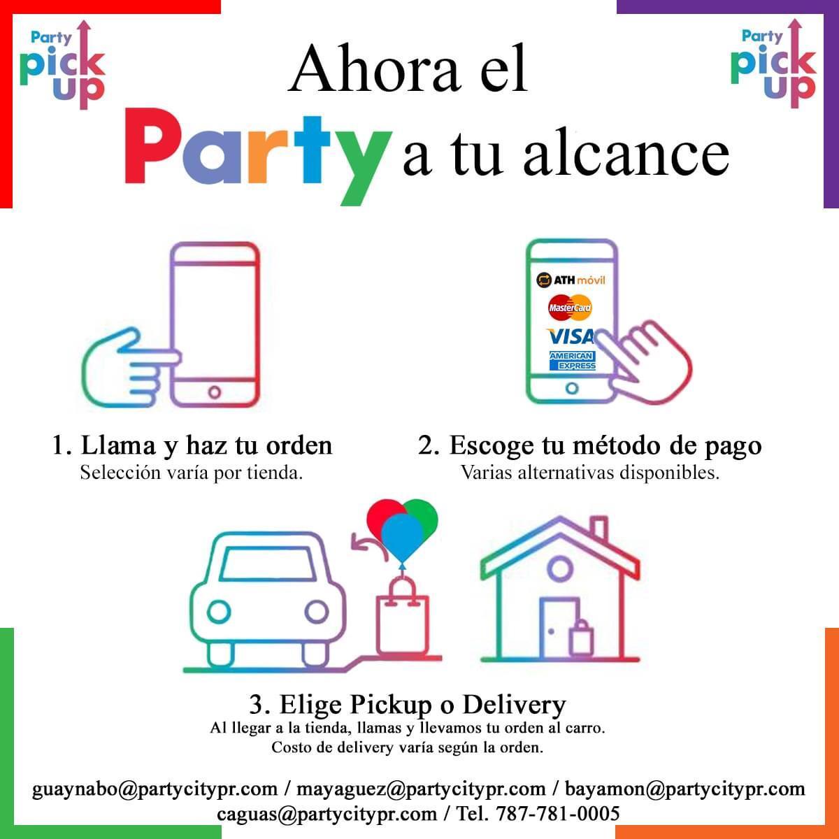 ¡Ahora el PARTY a tu Alcance!