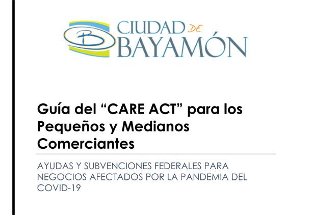 Guía del CARE Act para Pequeños y Medianos Negocios en Bayamón