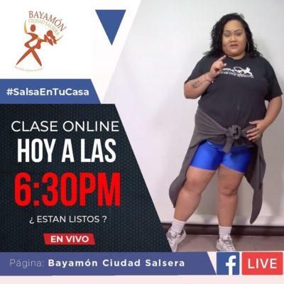 #SalsaEnTuCasa con Xiomara Calderón