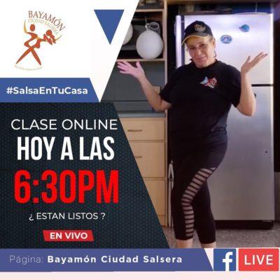 #SalsaenTuCasa