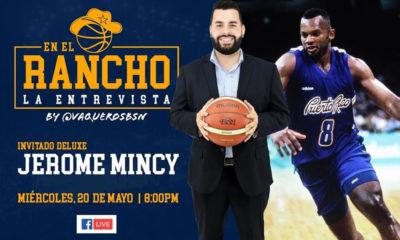 """No te pierdas mañana miércoles, 20 de mayo desde las 8PM a través de Facebook Live la entrevista """"En el Rancho"""" donde Francisco López tendrá como invitado de lujo a uno de los pilares de nuestra histórica franquicia, Jerome Mincy!"""