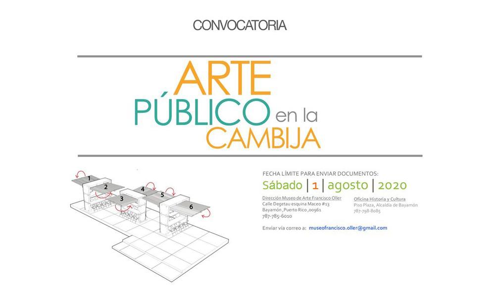 Convocatoria de Arte Público en la Cambija
