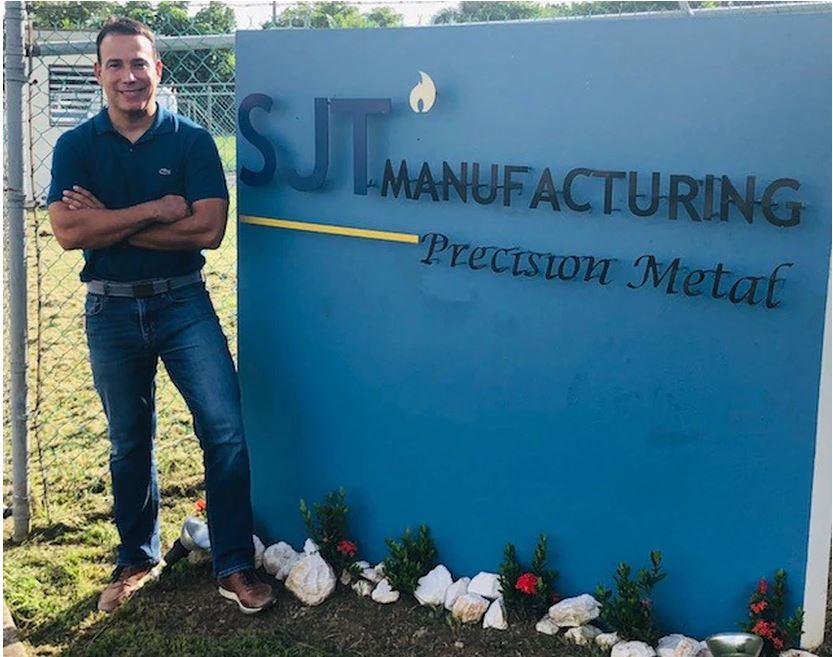 Mudan Manufactura de Asia a la Planta SJT Manufacturing en Bayamón