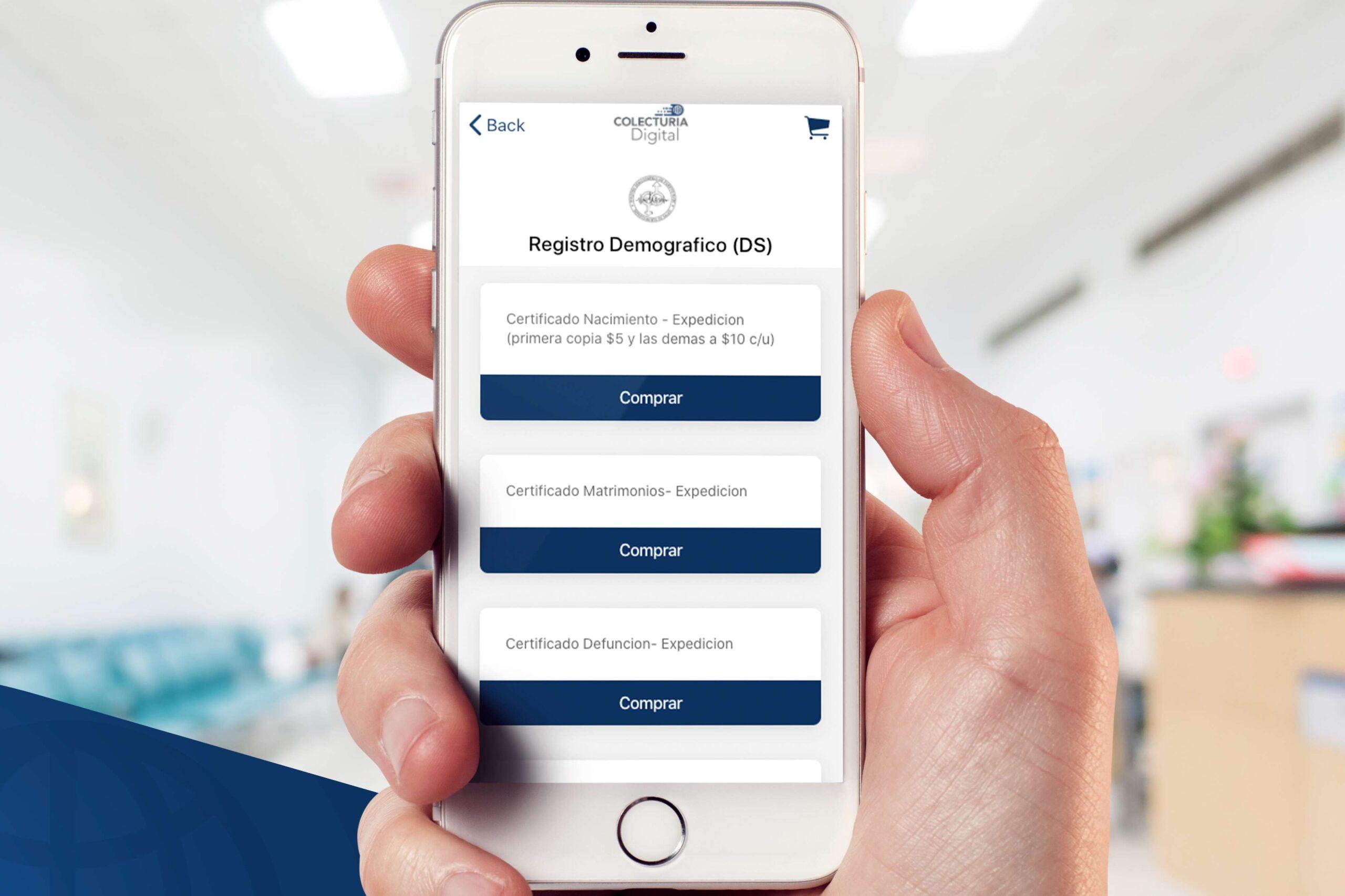 Se Digitaliza el Registro Demográfico