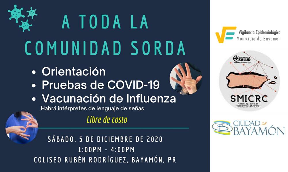 Orientacion Covid-19 para la Comunidad Sorda