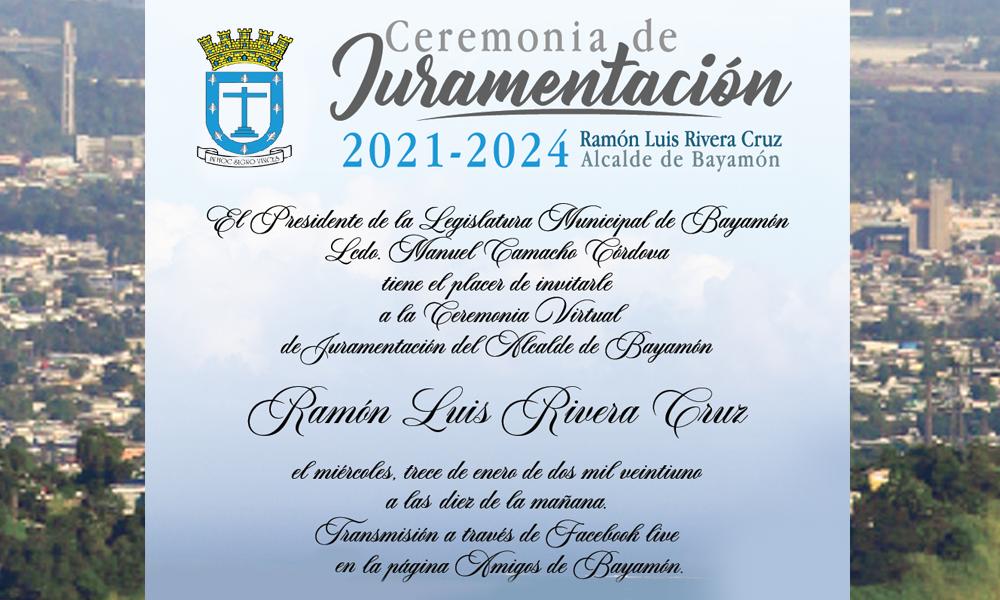 Juramentacion del Alcalde de Bayamo el 13 de enero de 2021