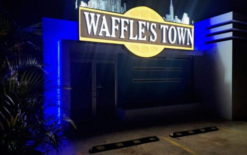 Llega Waffle's Town a Bayamón