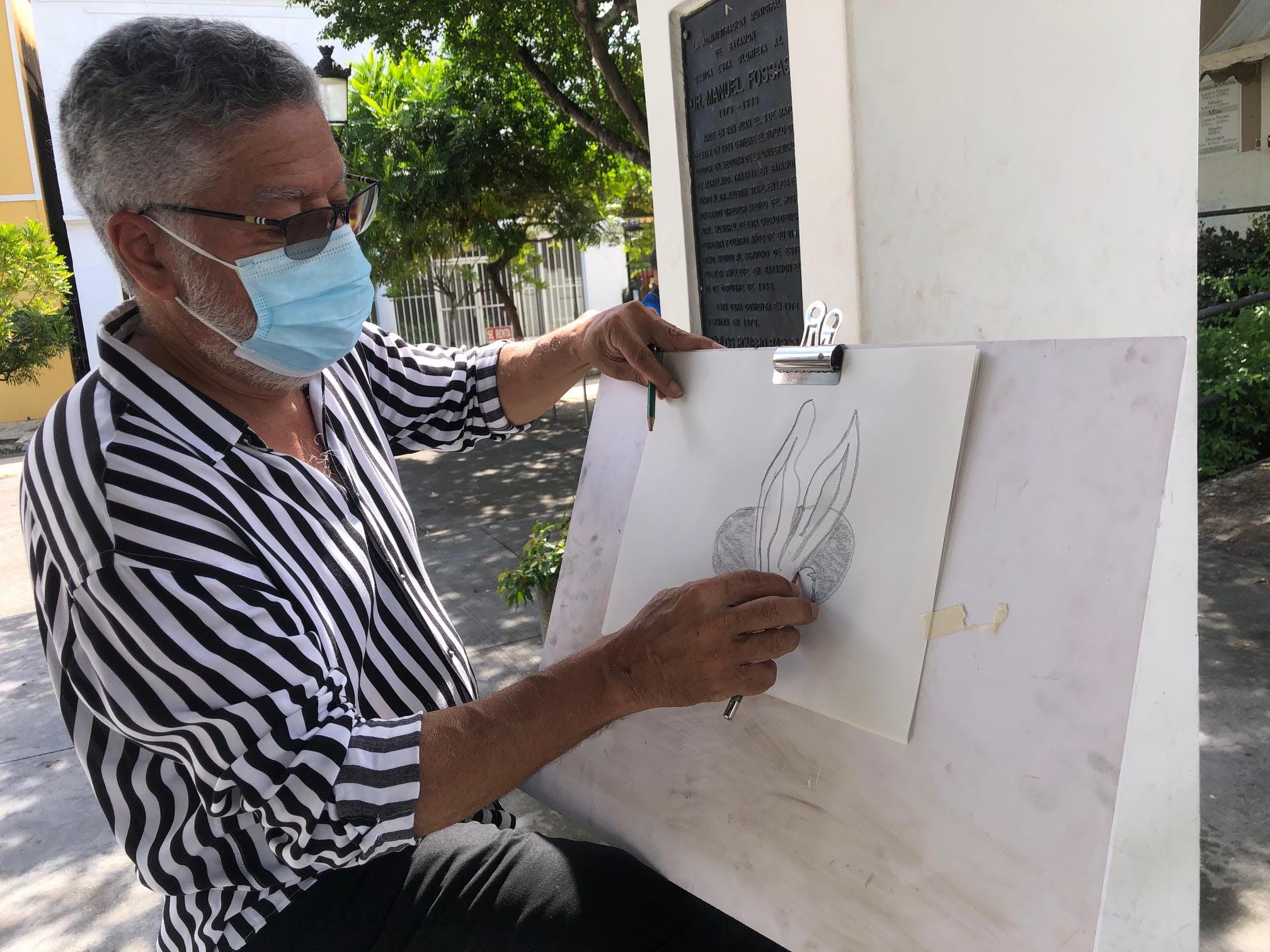 """Fotos: """"Taller de Caricatura"""" Inspirado en el Día de Pascua"""