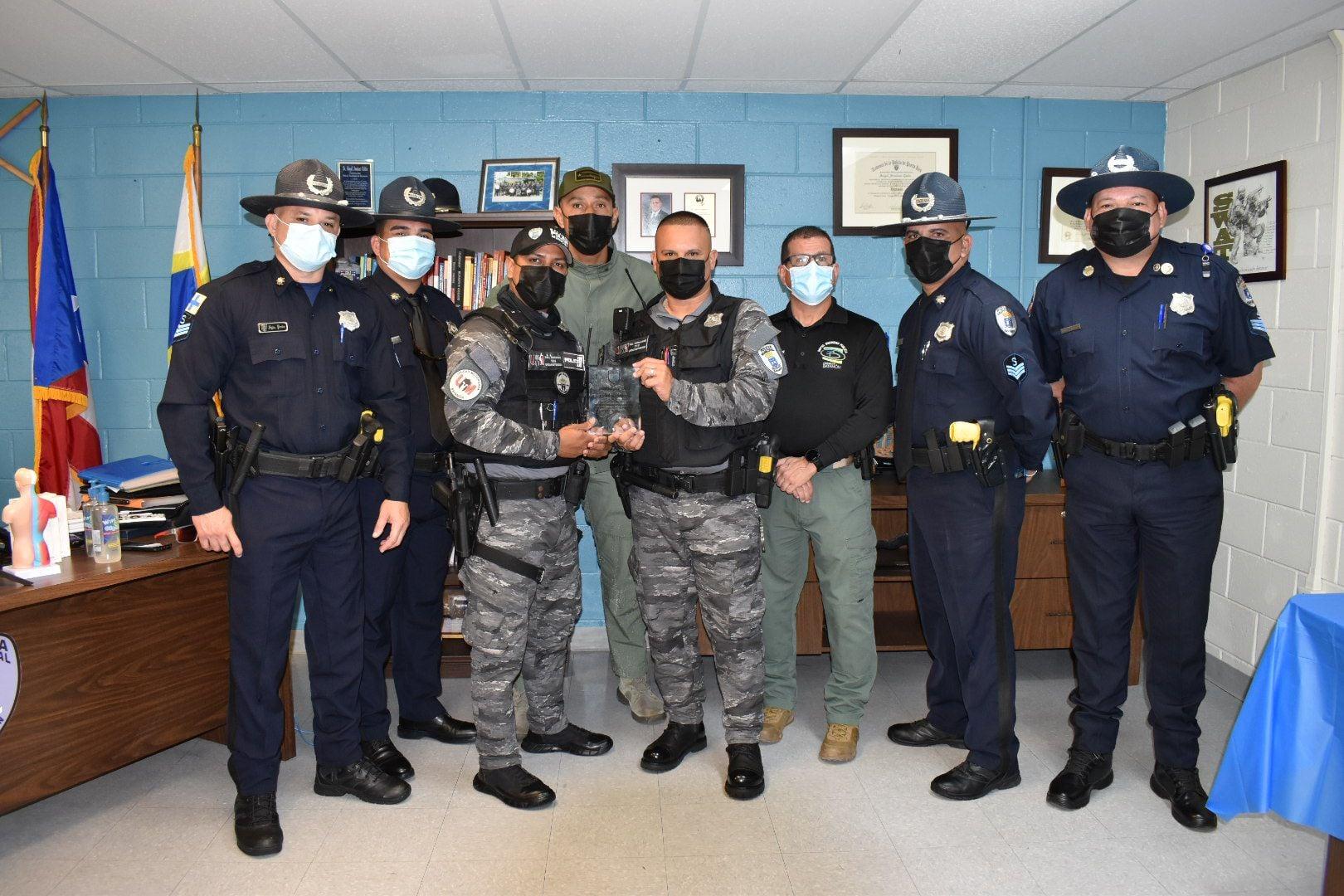 Reconocimiento a los Policias Municipales en su Semana