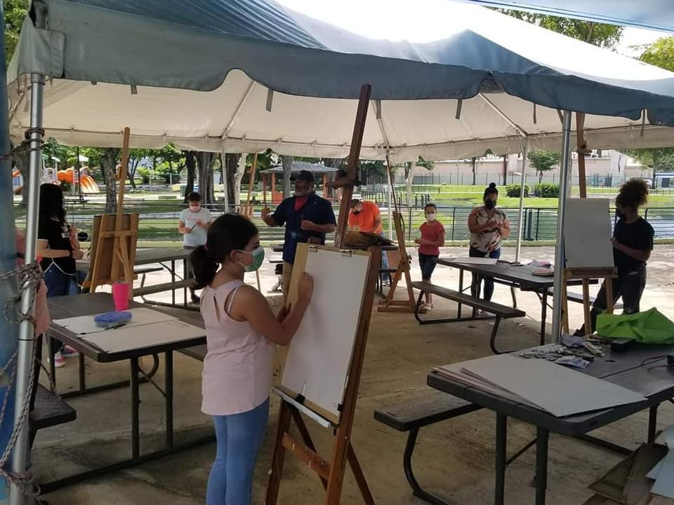 """Galería: """"Pintando al Aire Libre"""""""