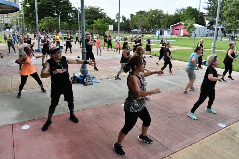 Regreso de Acondicionamiento Físico en el Parque de los Niños