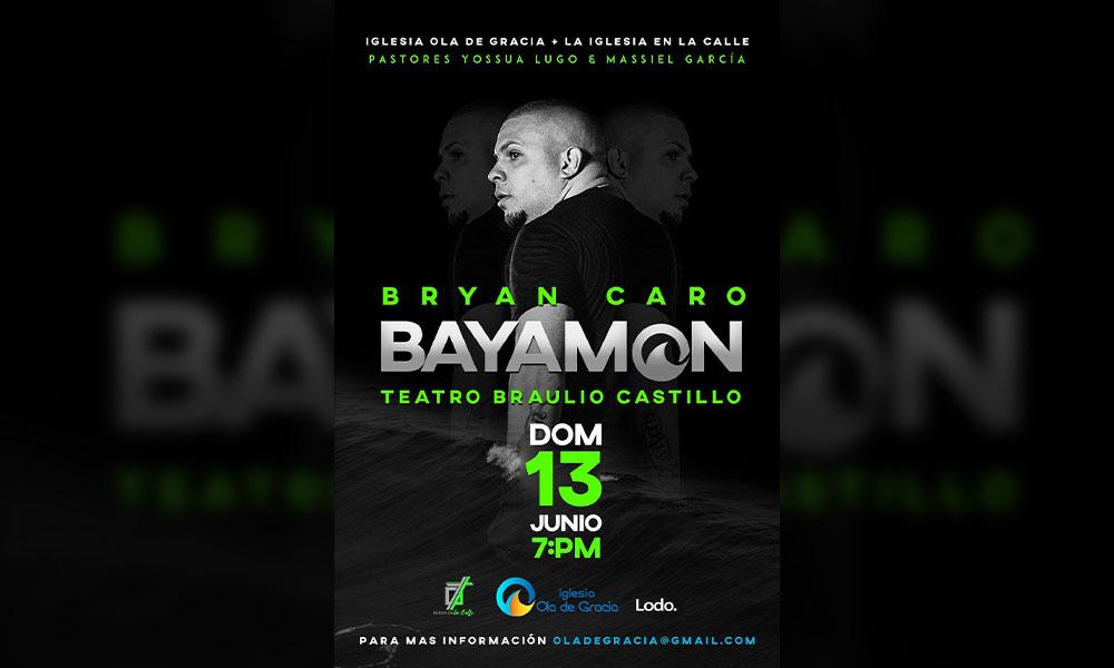 Bryan Caro Teatro Braulio Castillo 13 junio