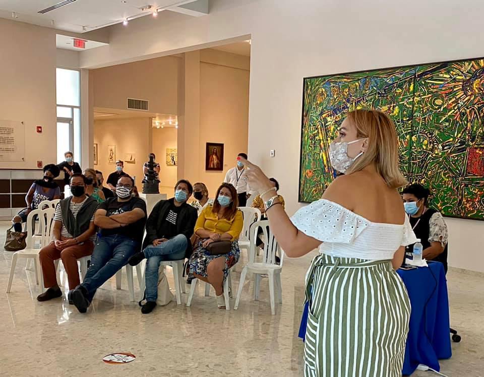 """Galería: """"Conversaciones con Artistas"""" con Bárbara Díaz Tapia"""