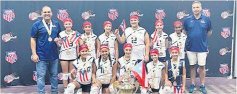 Vaqueras Invictas en Torneo Nacional Voleibol