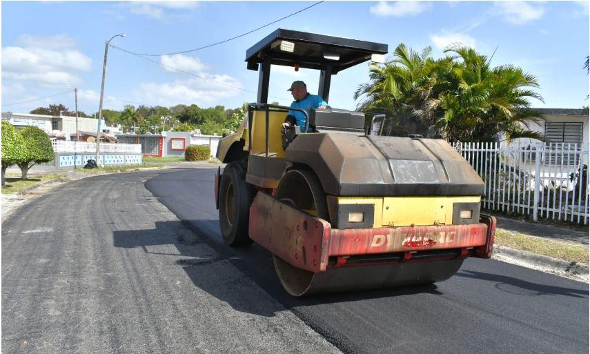 Bayamón Establece Campaña de Repavimentación en las Carreteras