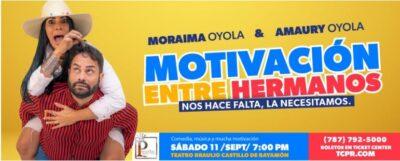 Moraima y Amaury Oyola: 'Motivando'