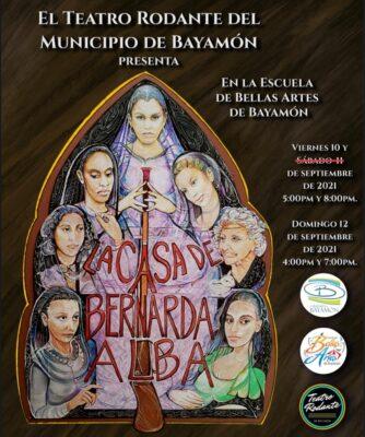 EL Teatro Rodante Presenta: La Casa de Bernarda Alba
