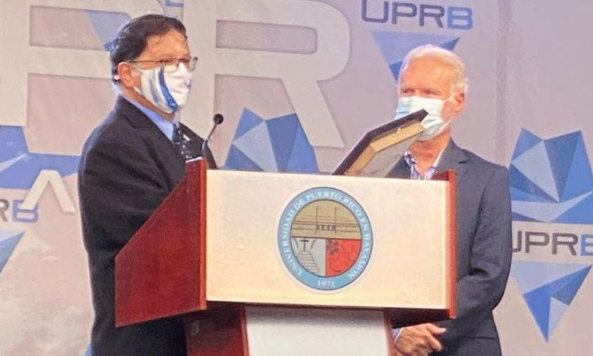 UPR Bayamón dedica su 50 aniversario a Ramón Luis Rivera, Padre