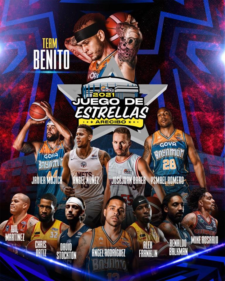 Definidos Team Benito y Team Huertas para el Juego de Estrellas 2021