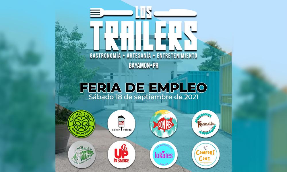 Feria de Empleo en los Trailers el 18 de septiembre de 2021